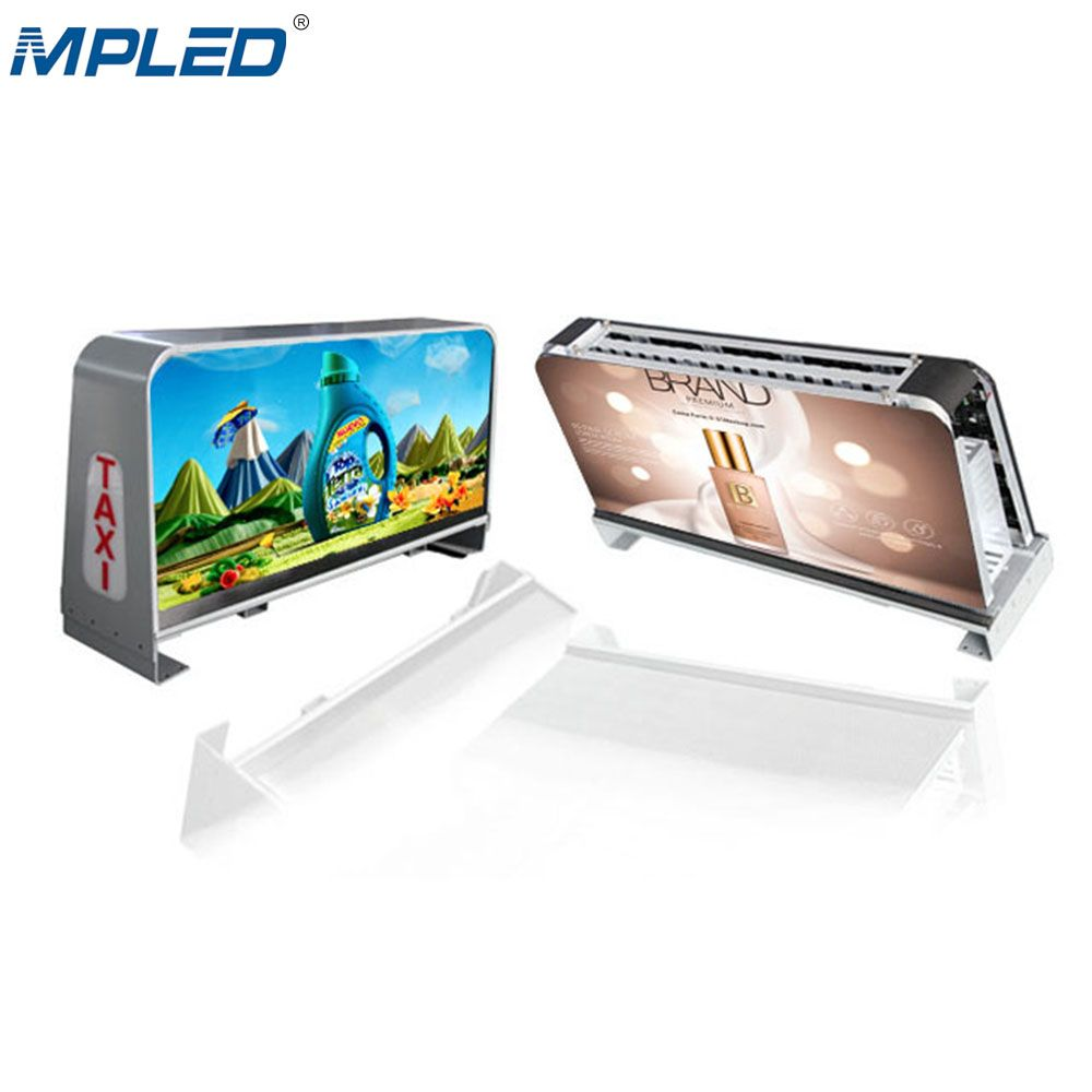 Full Color Waterproof Taxi Top Led Display <strong>Screen</strong>