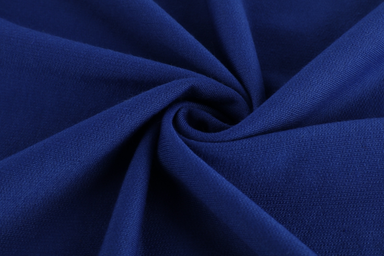 W230-2 Knitting stock terry 100% polyester plain spun poly fabric for t-shirt