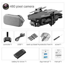 Мини-Дрон Hipac 4K 1080P с HD камерой, Wi-Fi, FPV, контроль давления воздуха, черный и серый, складной Квадрокоптер, Радиоуправляемый Дрон, игрушка(Китай)