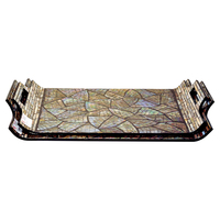 New hot products Vietnam colorful tray for serving cheap tray by mother of pearl