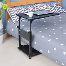 Scrivania Pliante Lap Escrivaninha Dobravel кровать ноутбук Tisch Schreibtisch прикроватная подставка для ноутбука стол для обучения компьютерный стол(Китай)