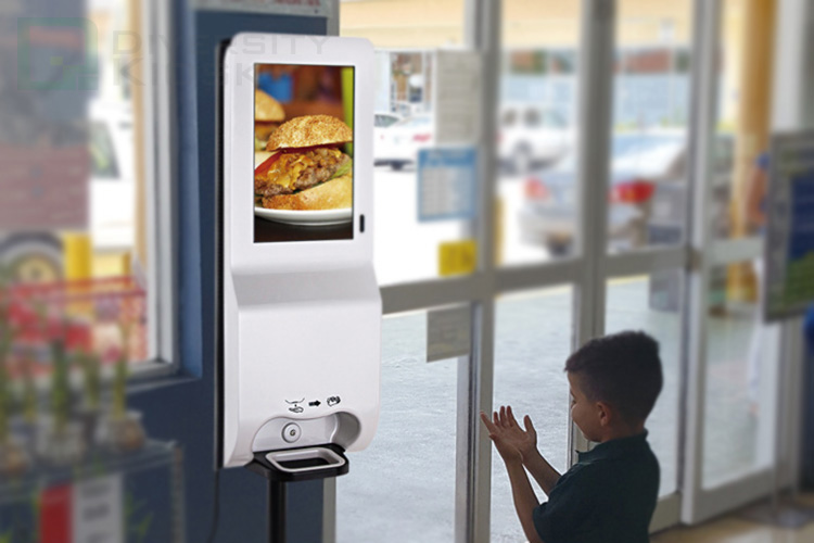 Brand new hand sanitizer touchless dispenser with high quality