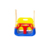 Best Quality children outdoor playground equipment plastic infant swing set baby swing set
