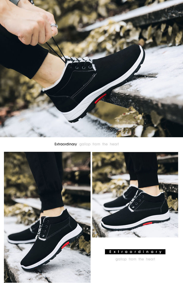 2018 Newest design casual winter man shoes