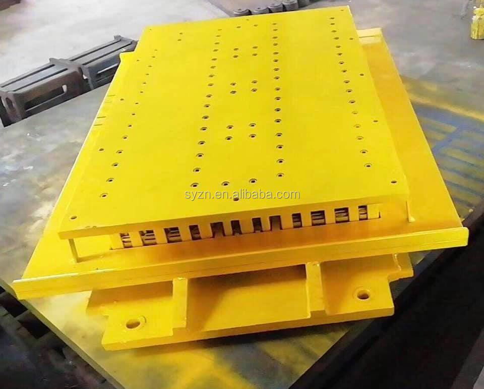 QTJ4-24 concrete cement standard solid  block mold for making machine road blocks direct factory  tool production line equipment