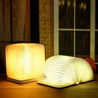 rechargeable usb book lamp best gift fashion indoor decor decoration home desk led book light