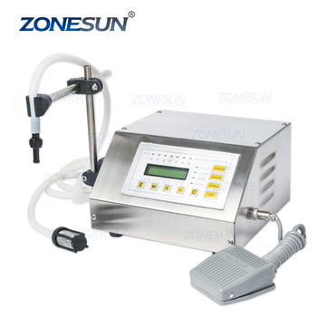 ZONESUN GFK-160 5Ml-3000Ml Bottle Filling Machine Bottle Filling Machine Price Milk Bottle Filling Machine