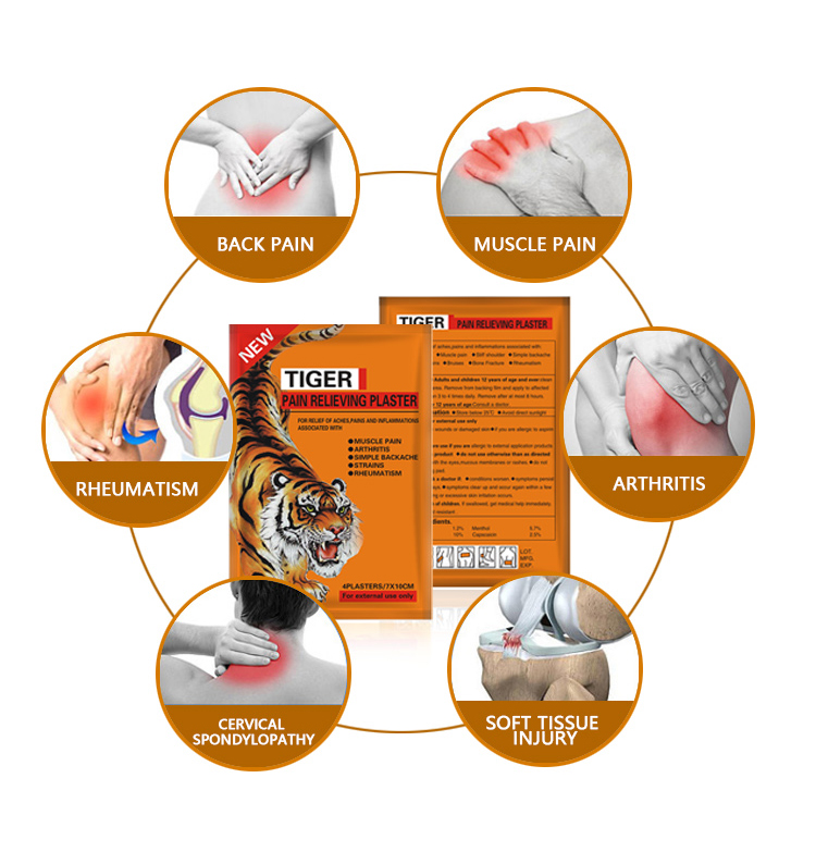 Direct Factory Body Muscle Pain Reliever Lower Back Pain Relief Patch