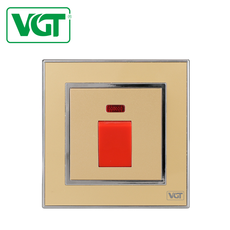 New style fashion designer Q045 push button touch operated light switch