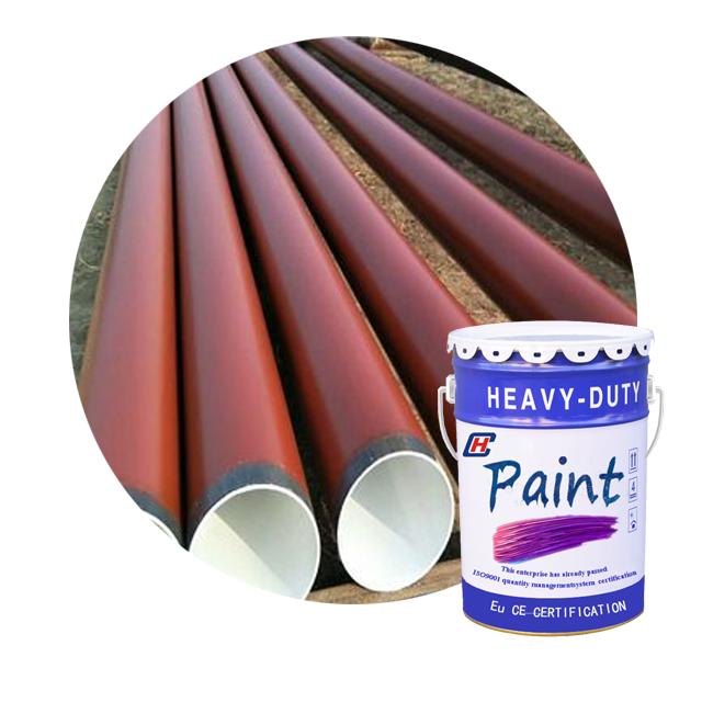 Superfícies de película de tinta epóxi verniz para a estrutura de aço resistente