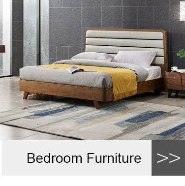 Estilo Europeo bonito dormitorio muebles de madera de la Reina dormir camas 1 set