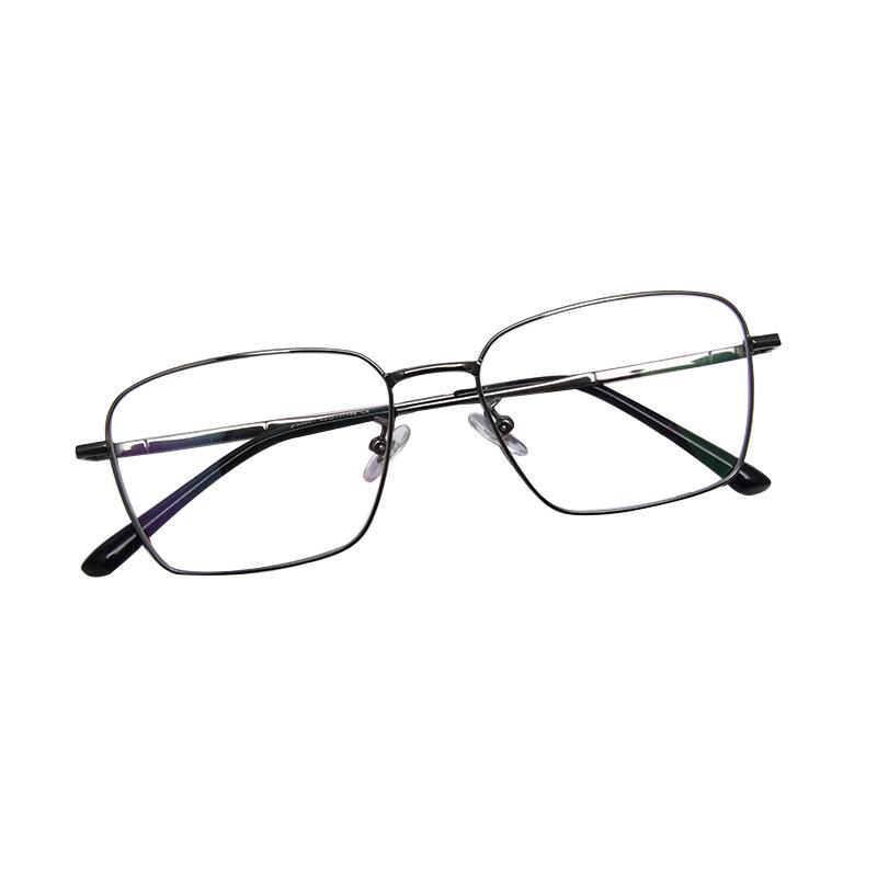 משקפיים באיכות גבוהה טיטניום סגסוגת כיכר משקפי מסגרת