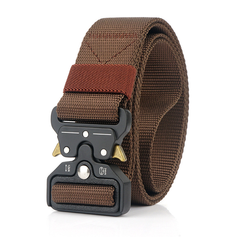 Casual nylon web uniform mens hunting olive web belt