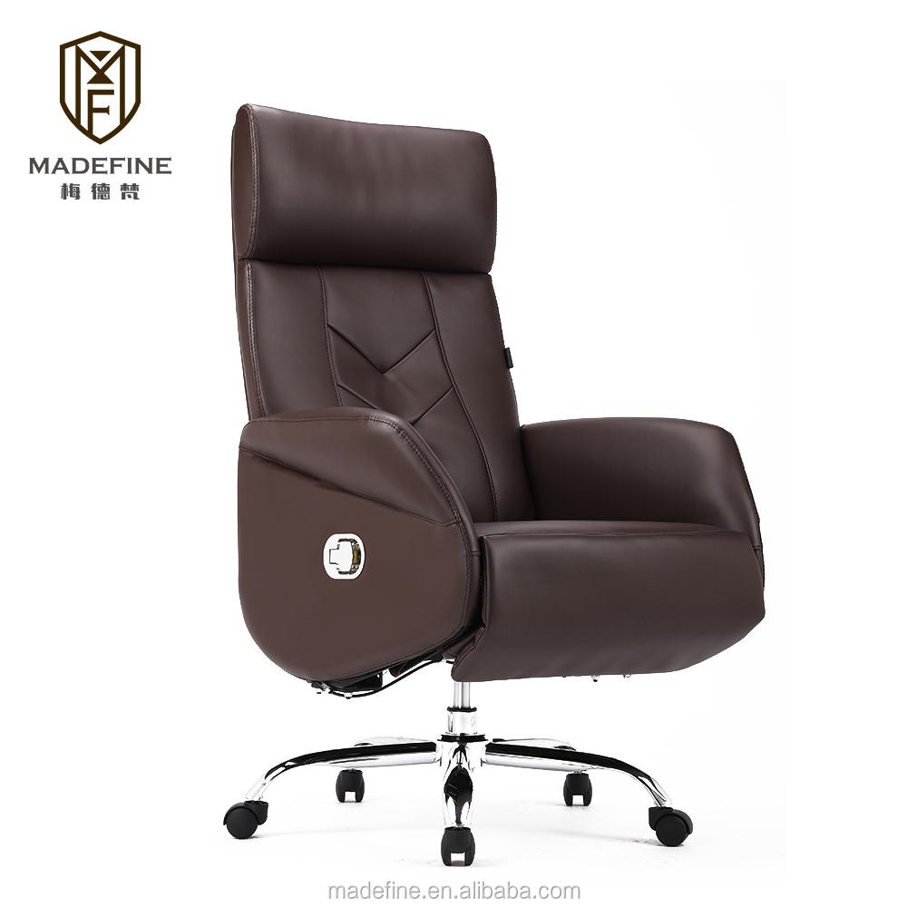 Meilleur Prix PU Haut Dossier fabricants bureau chaise avec bon prix paquet d'exportation