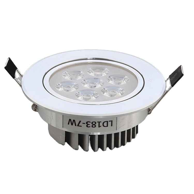 Aluminum 7W 9W Spot Light Ceiling Isolated Driver SMD LED Recessed Downlight