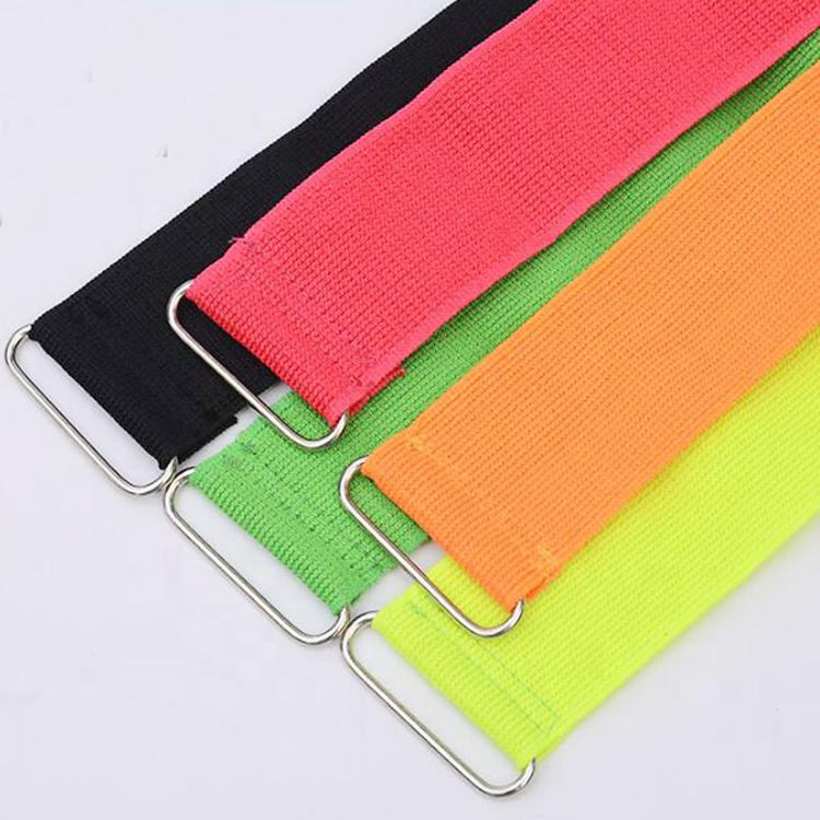 2020 Hot Sales Nylon Factory Direct Sales Heavy Duty Soft Elastic Adjustable Customized Flexible Hook & Loop Cable Tie
