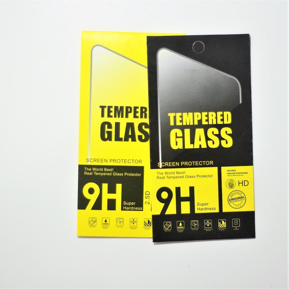 0.33MM 2.5D 9H קשיות יצרן מותאם אישית סיטונאי נייד מזג זכוכית סרט מגן מסך עבור iphone 12 מיני פרו מקסימום
