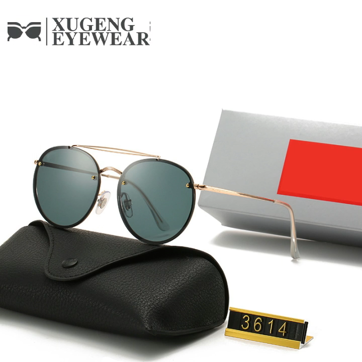 Ronda de 2020 gafas de sol para mujer para hombre tonos Ray banda gafas de sol RB3614