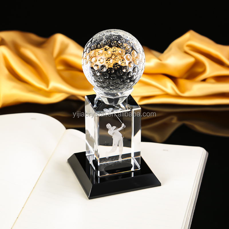 trending hot products new design crystal basketball trophy