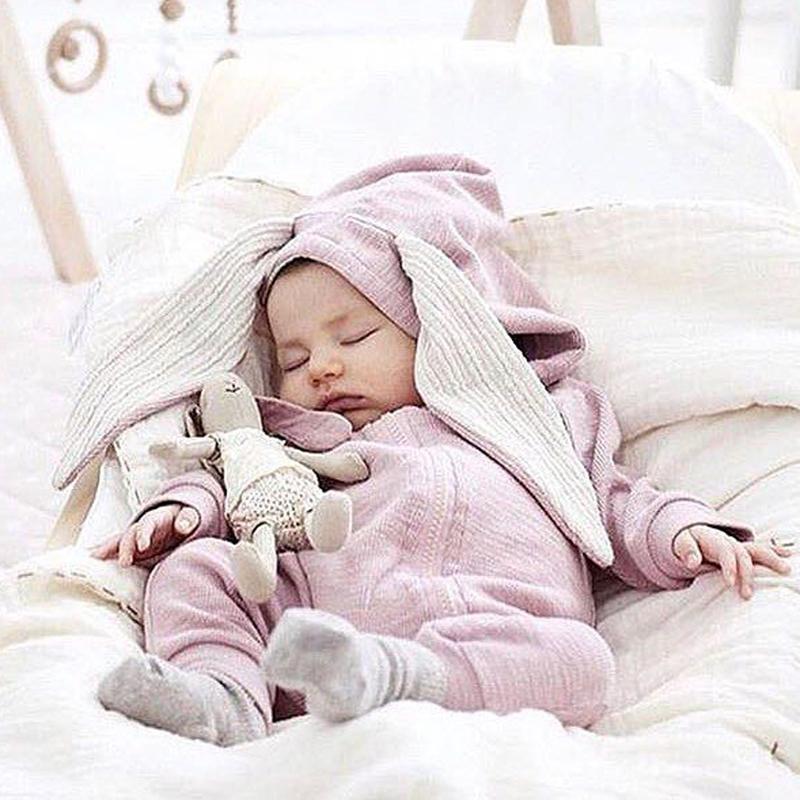 Kinder kleidung langarm-babyspielanzug plain baumwolle für baby kleidung