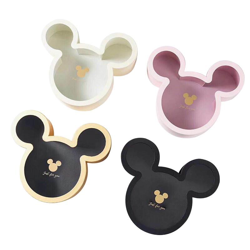 wholesale fashion mickey mouse shape carton flower gift box
