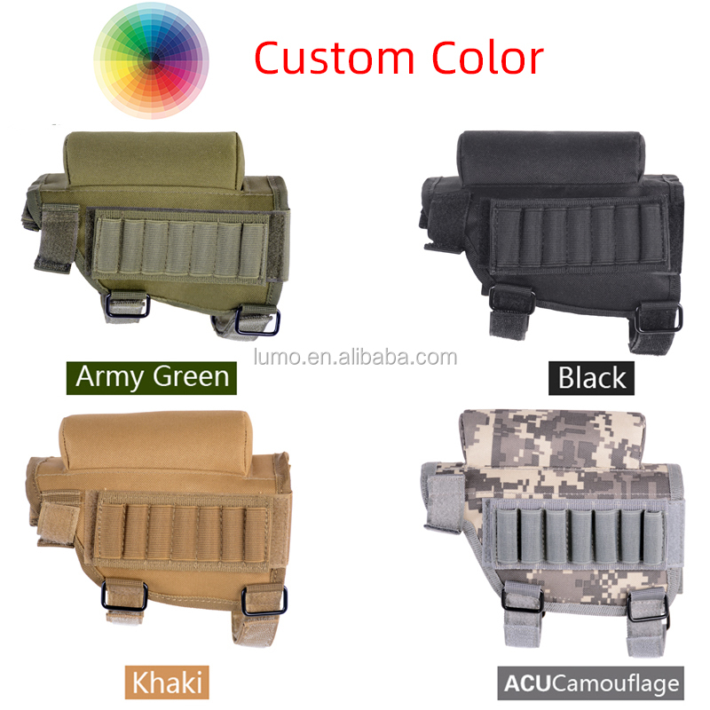 Molle Pouch Gun Accessories Tactical Tactical Pouch Magazine Gun Equipments Made In China Opp Bag Multi Colors Options Choose