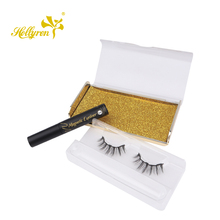 Augen Make-Up Private Label 3d nerz Magnetische Wimpern Wasserdicht Eyeliner
