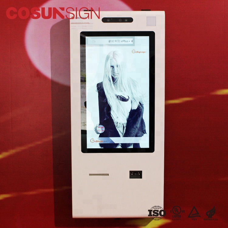 Free Photo Tv Hotel Self Service Food Ordering Kiosk Software With Credit Card Reader