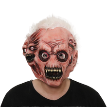 Realistische Volwassenen Cosplay Horror Monster Party <span class=keywords><strong>Latex</strong></span> Kostuum Halloween Maskers