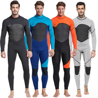 Neoprene 3mm Diving Suit Full Suit Long Sleeve Surfing Suit Keep Warm Wetsuit for Men