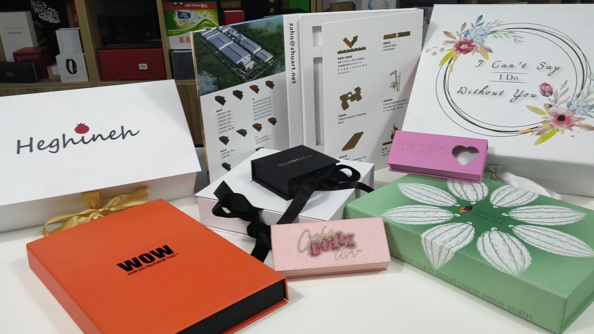 Bavul favor hediye kutusu düğün karton saklama kutusu kutuları yumuşak koruyun insert düşük MOQ özelleştirmek