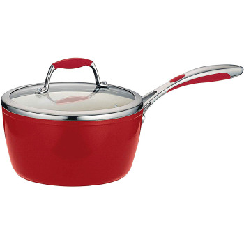 Forging Aluminium Ceramic Saucepan with Stainless steel Handle  with Lid