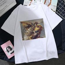 Mujer estampado VERMEER flor maquillaje, крутая бейсбольная бита для девочек, мягкая Эстетическая одежда для аниме, летняя одежда для женщин(China)