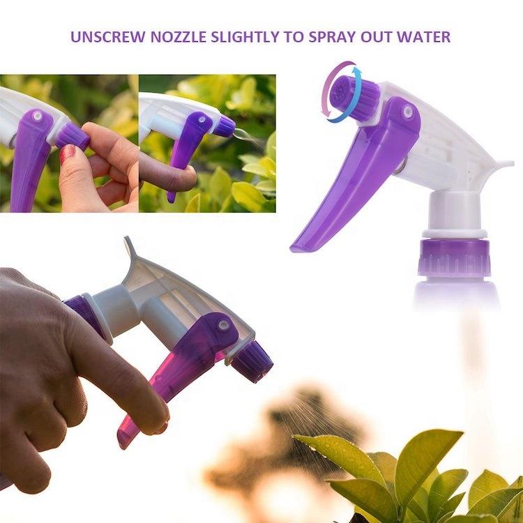 Purple Floral Print Garden Tools Set 5pcs with Case SW-OT600