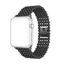 Браслет link из нержавеющей стали, ремешок для apple watch, 40 мм/44 мм/42 мм/38 мм, ремешок iWatch, 5, 4, 3, 2, 1, металлический ремешок для часов для женщин(China)
