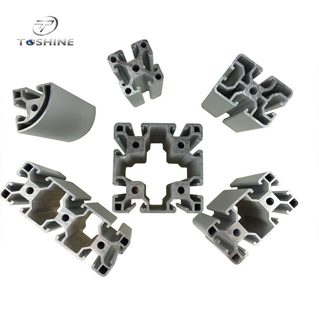 Alu profil 40x40 Profil 40x40 Supplier Direct Sell Aluminium Profile 40x40 For Transport Building Conveyor Roller