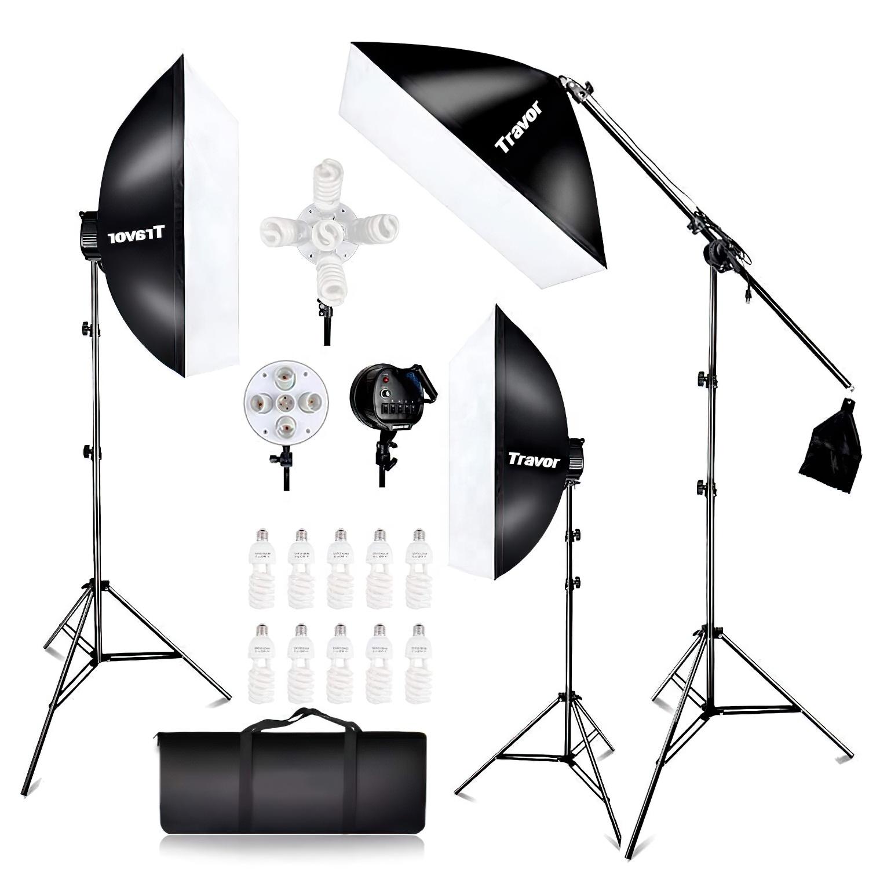 LS3000 II Portable lightbbox product photography light box set new photo studio huge softbox kits umbrella soft box for camera