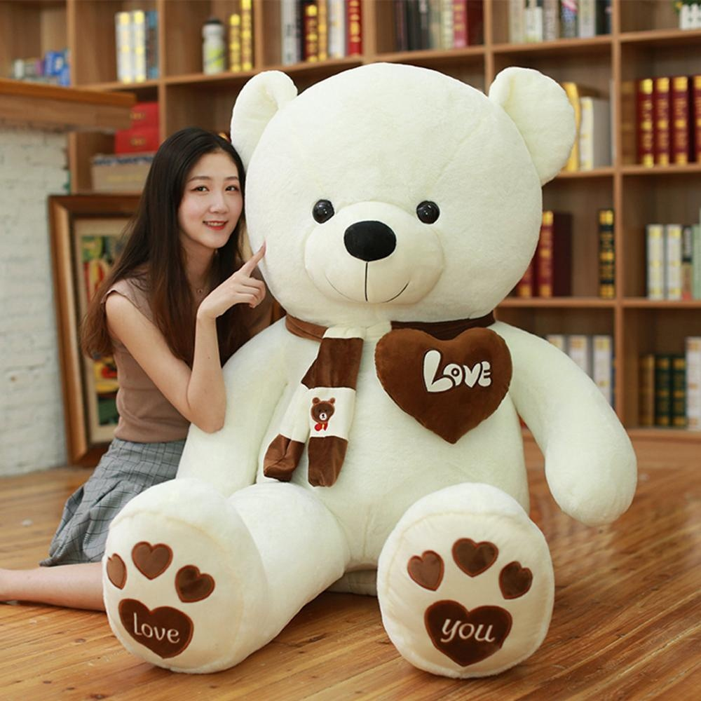 I love you valentine's day gifts giant teddy bear skin
