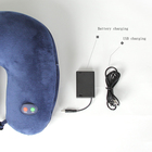 Pillow Massage Memory Foam Neck Pillow U Shape Vibrating Massage Neck Pillow