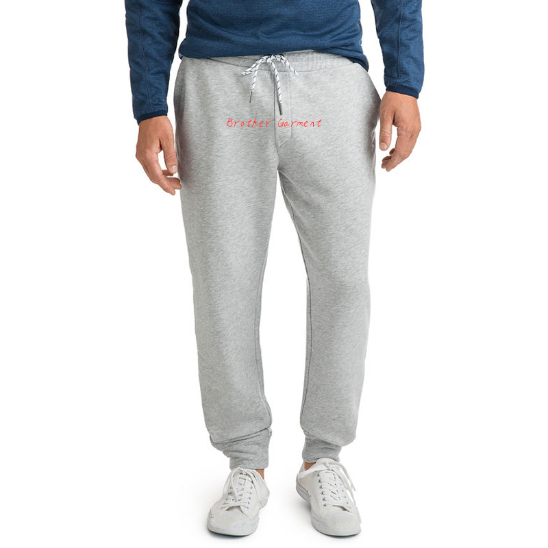 Wholesale men running terry sweat track pants blank custom brand mens bottom sports jogger pants