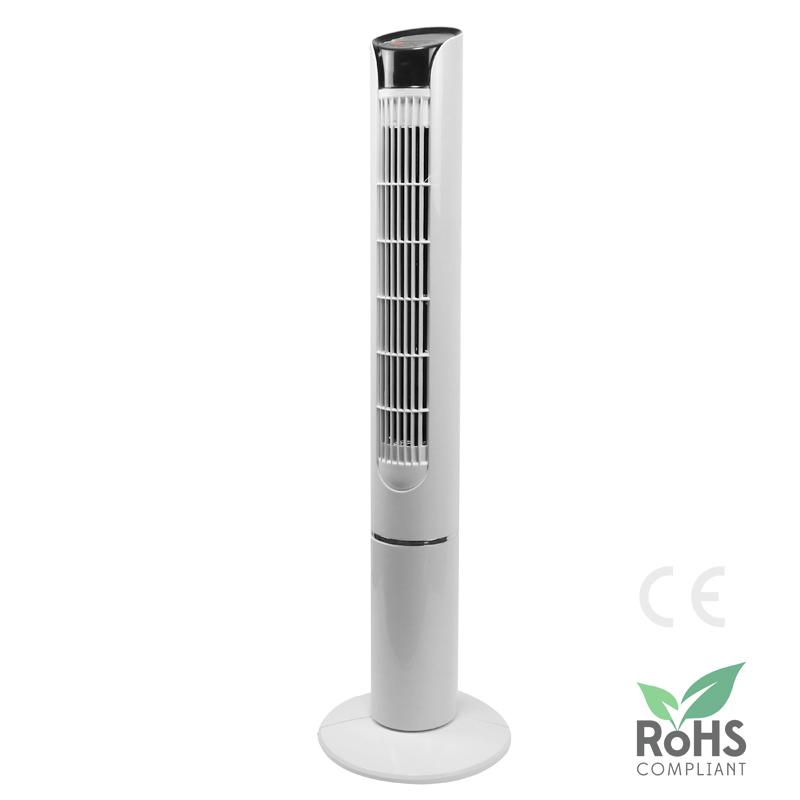 Ventilateur vertical sur pied pour chambre à coucher, tour de refroidissement rotative, avec télécommande, prix de gros, LWTF-03
