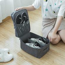 Вместительная Портативная сумка для обуви, сумка для путешествий, 3 кармана, Баскетбольная обувь, органайзер, Сортировочная сумка на молнии,...(Китай)