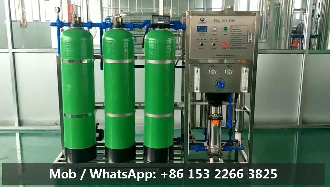 Jiangmen Eerste Drinkwater Apparatuur Fabrikant China Leverancier Industriële Ro Plant