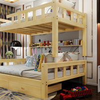 High Quality Twin Baby Solid Wood Bed