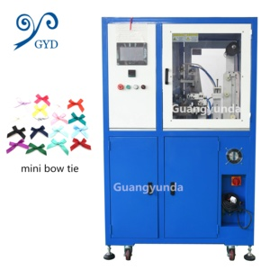 High Quality Underwear Accessories Satin Ribbon Bow Knot Making Machine Ties Making Machine