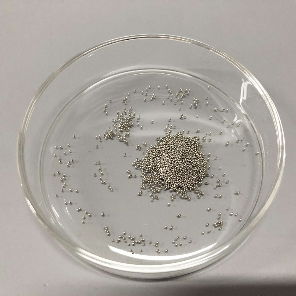 99.99% 1-6mm Bismuth Granules Grain Pallets