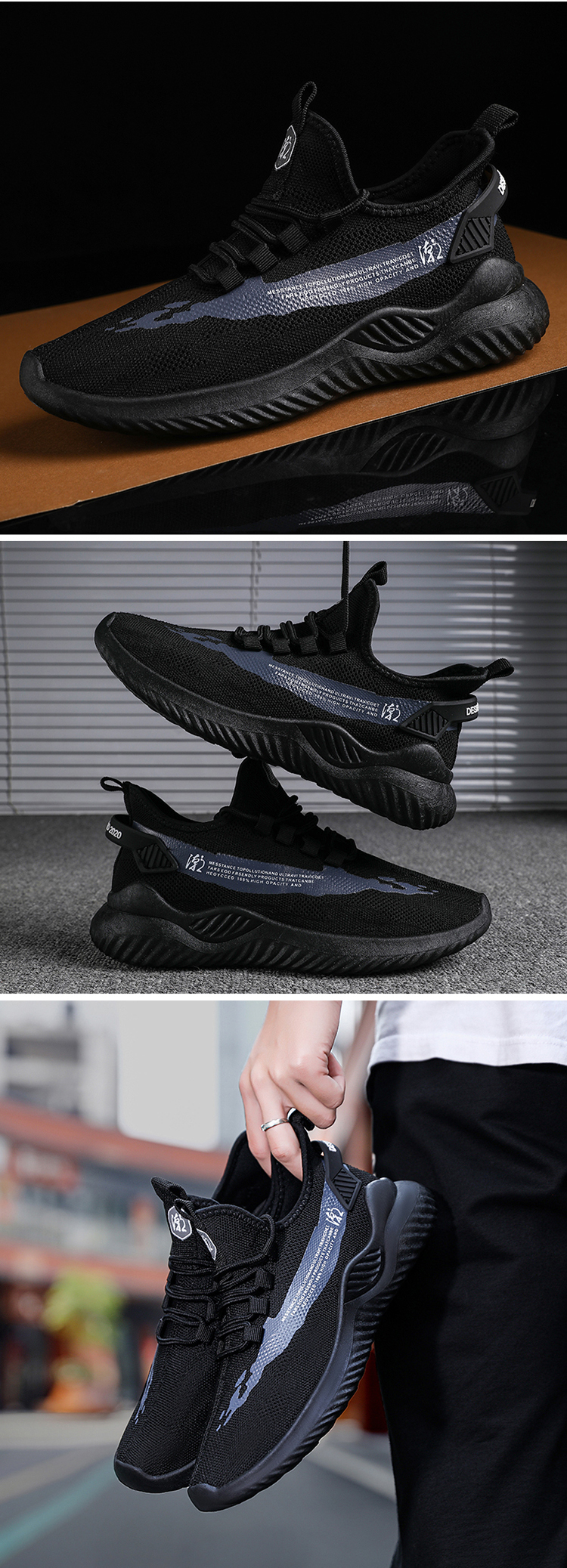 2020 Factory wholesale new casual men's sports shoes fashion sneaker