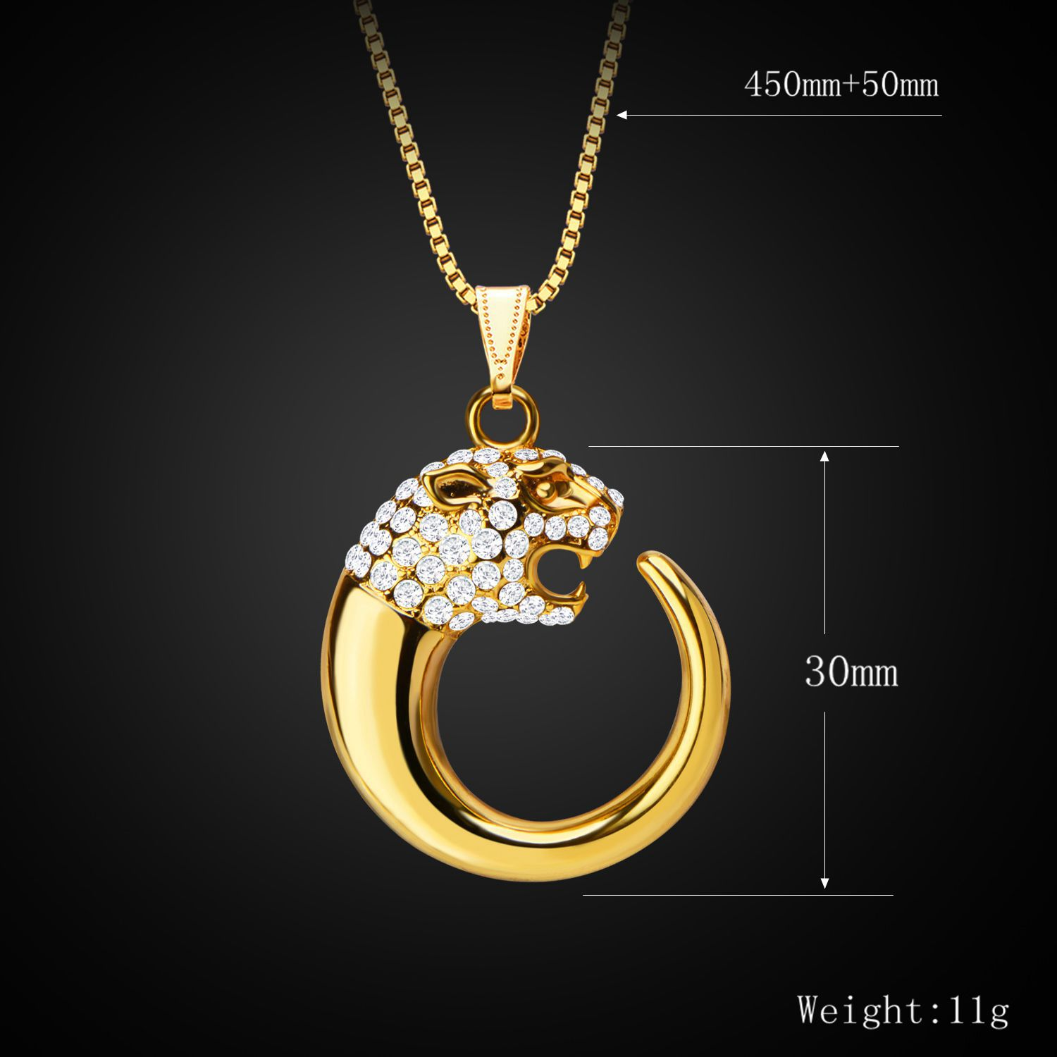 Trendy Jewelry Sets 18K Gold Plated Rhinestone Necklace Earring Unique Pendant Necklace and Earrings wholesale