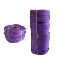 Custom Eco-friendly 4mm-25mm Polypropylene 3 strand PP rope