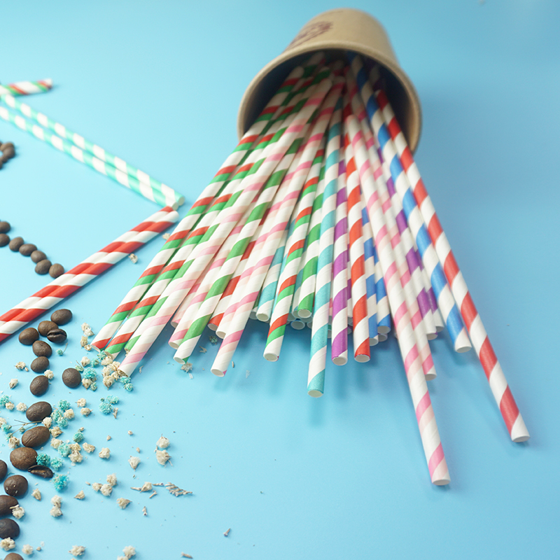 Wholesale Eco-friendly Paper Drinking Straws